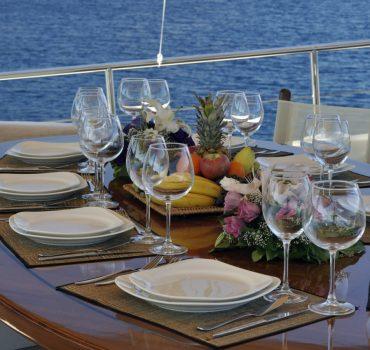 catering mallorquin barco